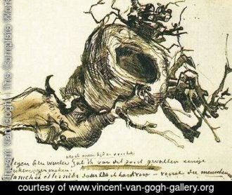 Van Gogh Nest Drawing: https://www.vincent-van-gogh-gallery.org/thumbnail/403000/403549/mini_normal/Birds-Nest.jpg?ts=1459229076