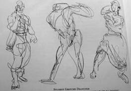 Figure Drawing: http://www.fanboy.com/wp-content/uploads/2010/04/gesture-drawings.jpg