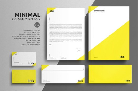 minimal-stationery-design-template